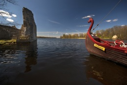 Viking boat 'Nameisis'